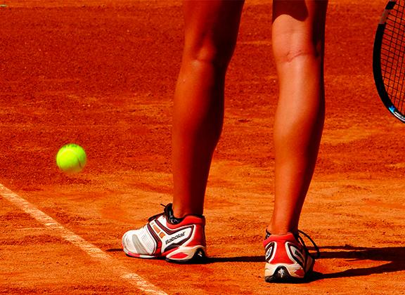Calçados para a prática de tênis