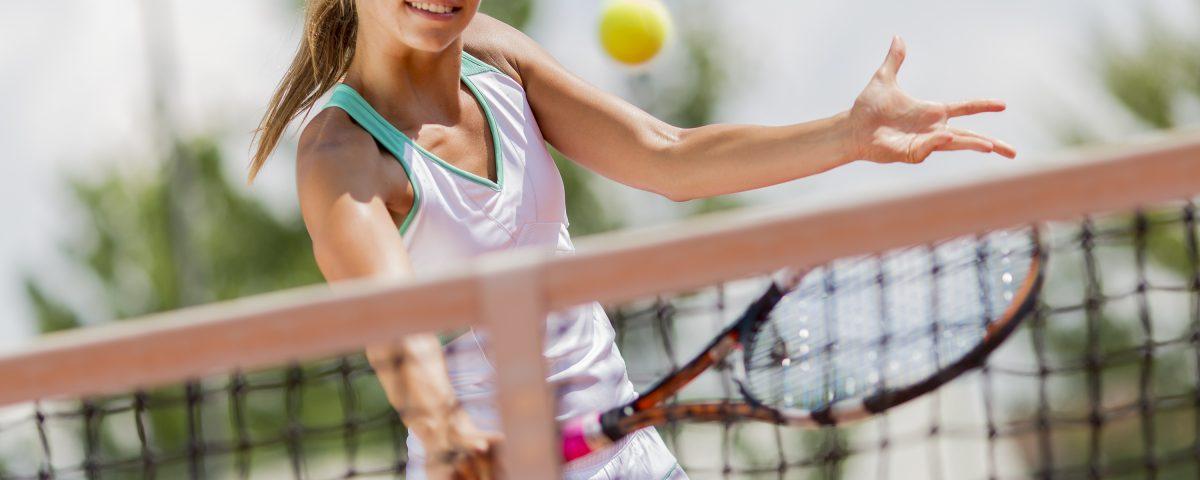 Contusão no tênis
